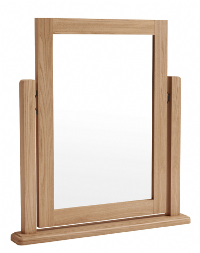 Greenwich Light Oak Single Dressing Table Mirror